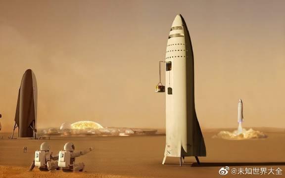 SpaceX计划移民火星