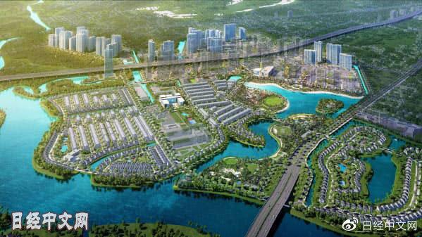 三菱商事和野村不动产在越南参与智慧城市开发