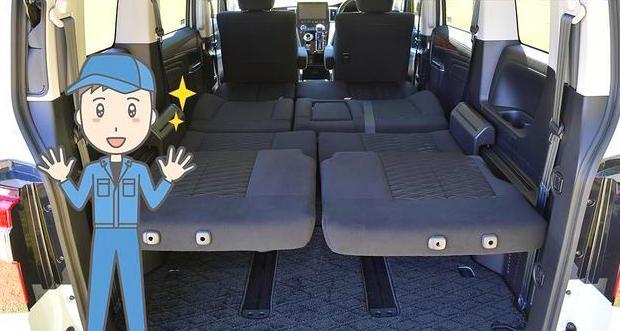 第一台日系四驱面包车!座椅完全放平就是床,采用侧滑门,能越野