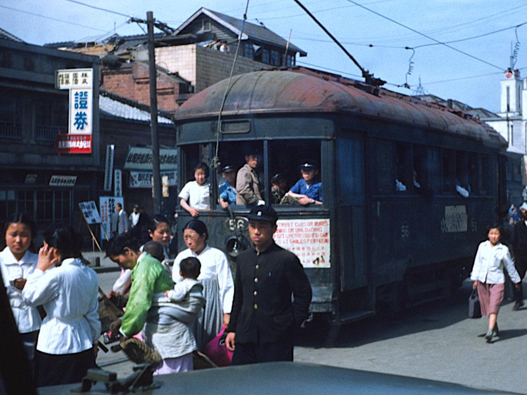 驻韩美军相册,五十年代末韩国见闻