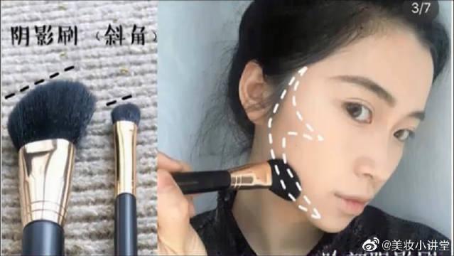 乱用化妆刷毁毁妆容,教你正确使用和选择化妆刷,化妆基础课开始啦