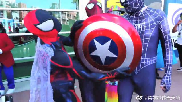蜘蛛侠仿妆秀:全套的漫威英雄强势来袭