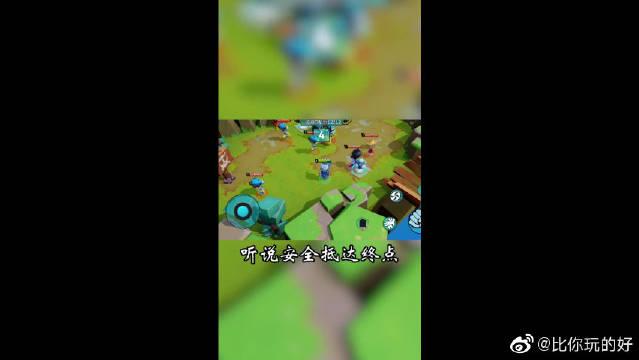 奇葩战斗机家:占星师坠落吃鸡岛,迷路了!