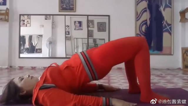 这套普拉提瑜伽运动,不仅能够帮你有效增肌,还能锻炼腿部腹部肌肉