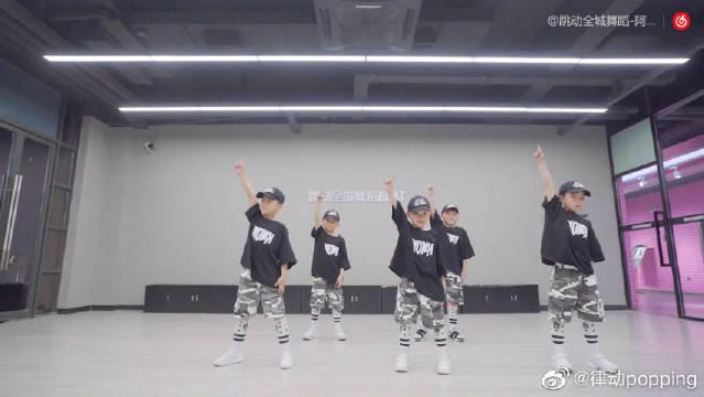 当小可爱们跳起街舞来是什么样子?超萌超可爱的少儿街舞!