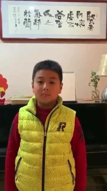 南京市五老村小学李旭淇