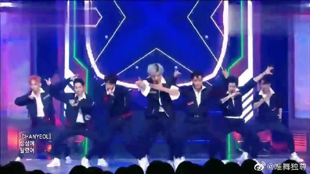 未出道先吸粉的韩国男团EXO的热舞,热情无法阻挡!@微博舞蹈