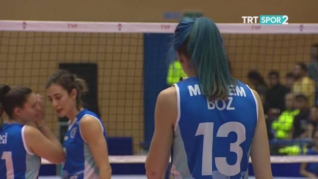 2019-2020赛季土耳其女排联赛第八轮,费内巴切3-0艾登都会
