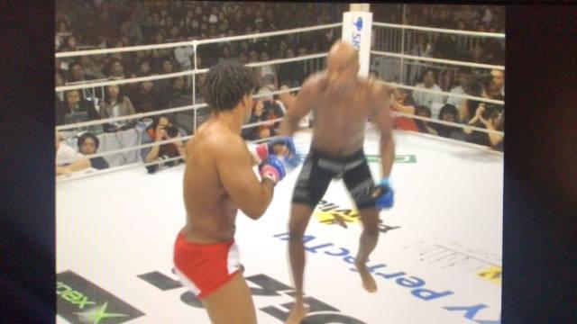 """""""蜘蛛""""安德森·席尔瓦2003年在日本PRIDE的比赛"""