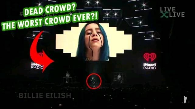 碧梨 Billie Eilish 最新登上洛杉矶 2020 iHeartRadio音乐会活现场表