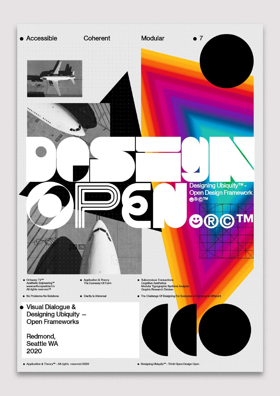 来自美国设计师 Anthony Dart 的海报作品欣赏!
