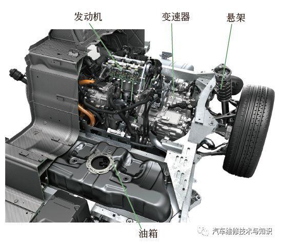 高清图解宝马i8 b38 三缸顶级发动机