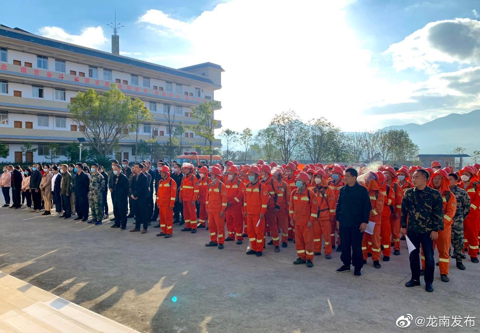 杨村镇:森林防火护青山千锤百炼砺精兵