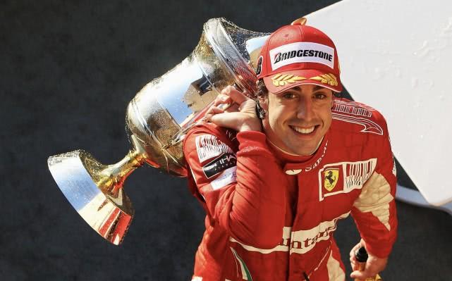 倒计时97天!阿隆索F1职业生涯共登上97次领奖台