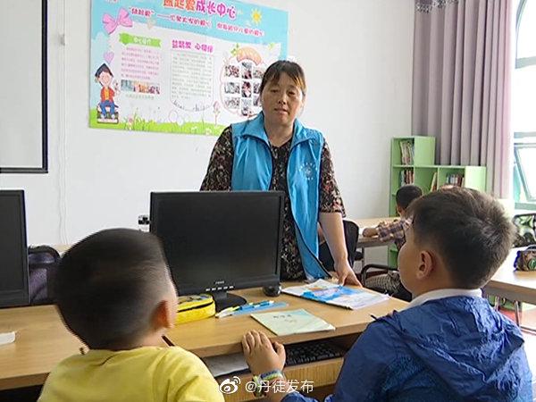 世业镇卫星村:心系留守儿童 让爱相伴成长