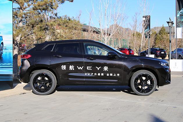 新款WEY VV7上市 配置升级/售16.98万元起