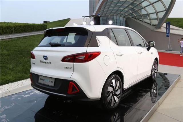 传祺再推纯电SUV,外观充满几何美,续航高达530km!
