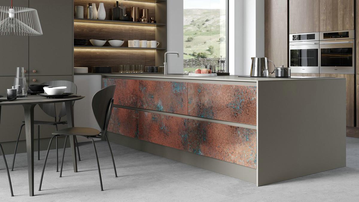 国外铜质厨房案例,最潮流的厨房设计!图片