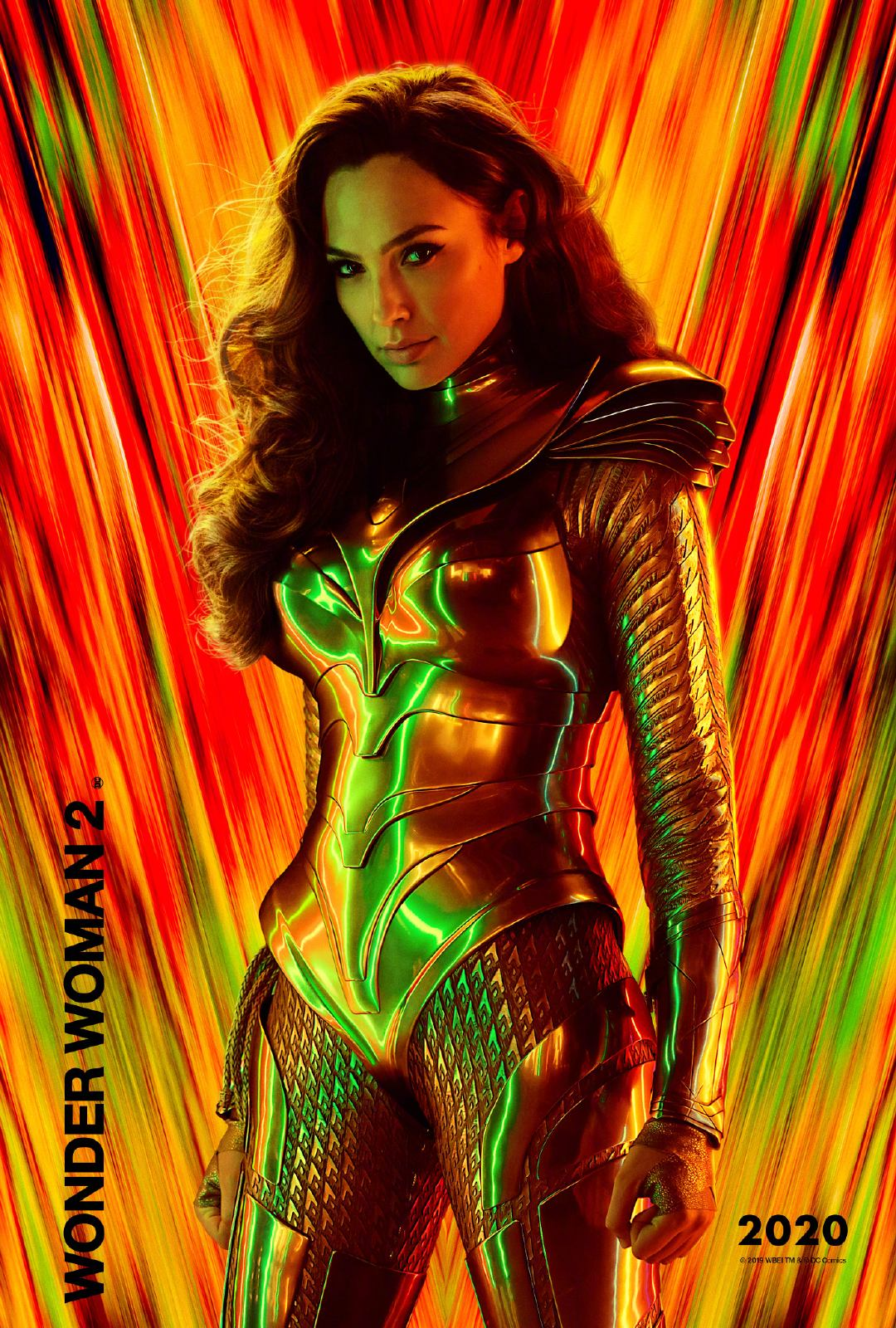 DC新片《神奇女侠1984》发布角色海报