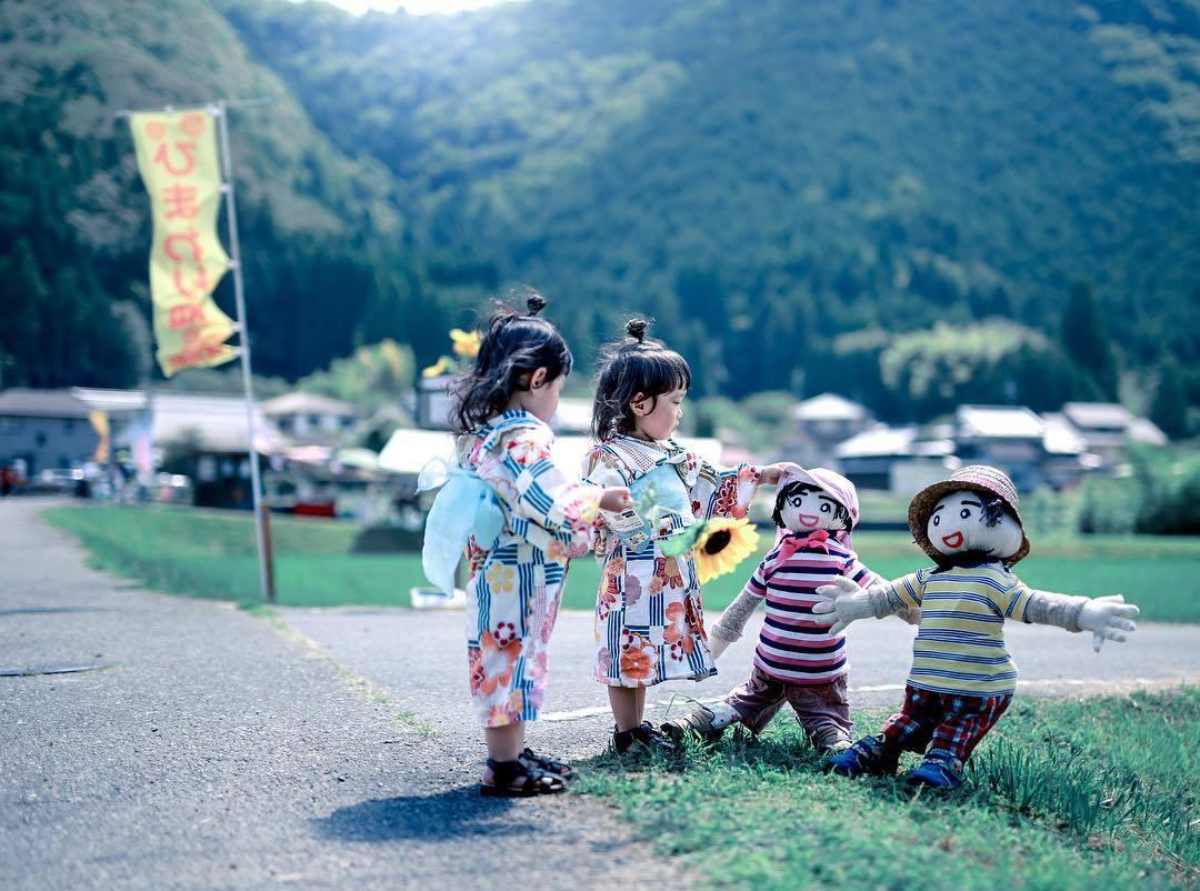 一对超可爱的日本双胞胎姐妹ins:twins22292439