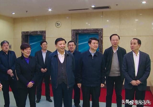 姜大明率全国政协调研组来泰调研 推动传统制造业实现绿色发展