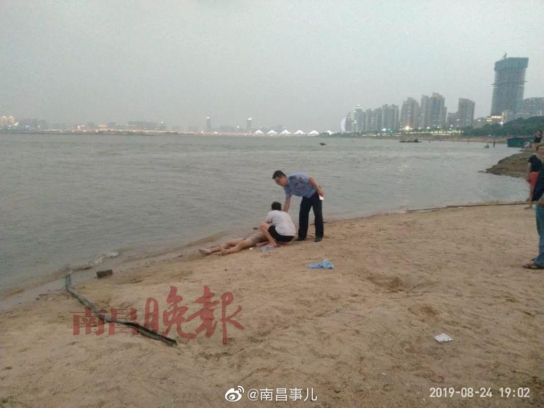 痛心!南昌秋水广场赣江边一花季少年不幸溺水身亡
