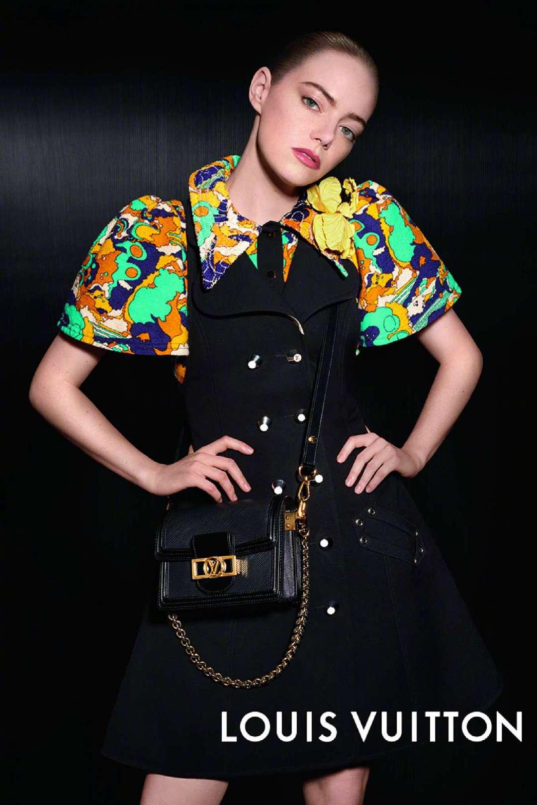艾玛·斯通Emma Stone——路易威登Louis Vuitton2020春季广告大片。
