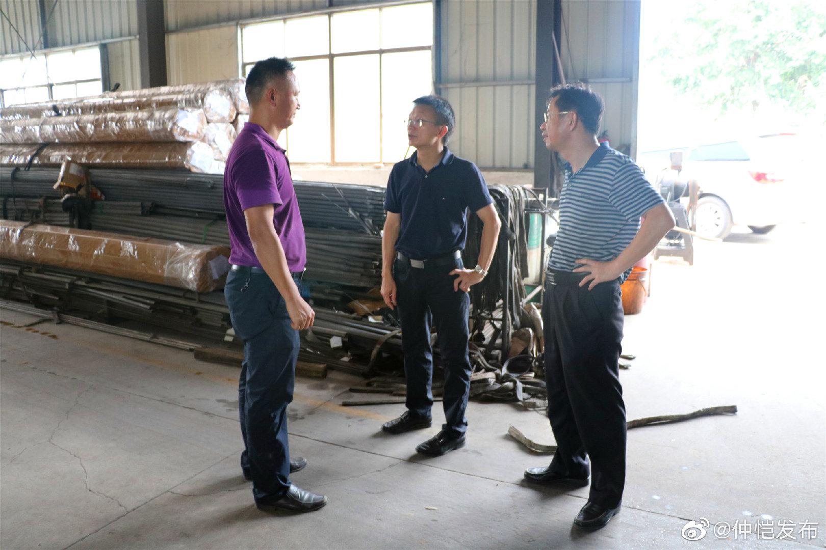 陈江街道开展安全生产及消防安全检查工作