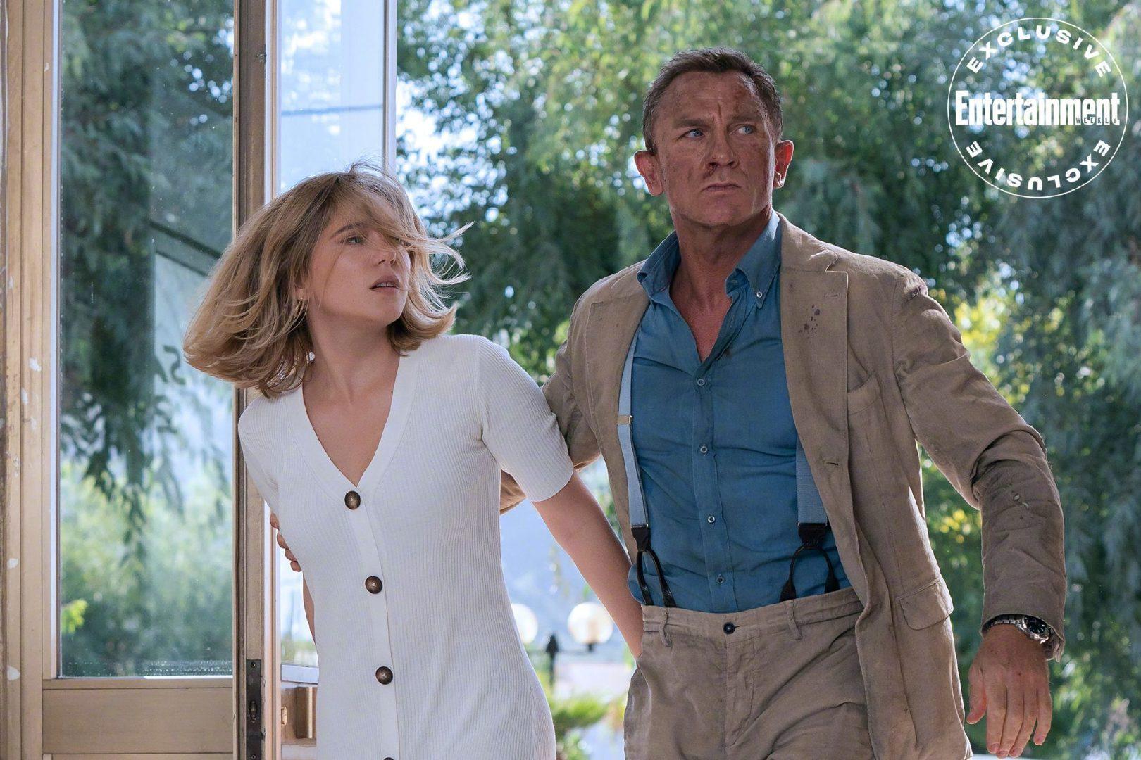 《007:无暇赴死》发布新剧照、片场照