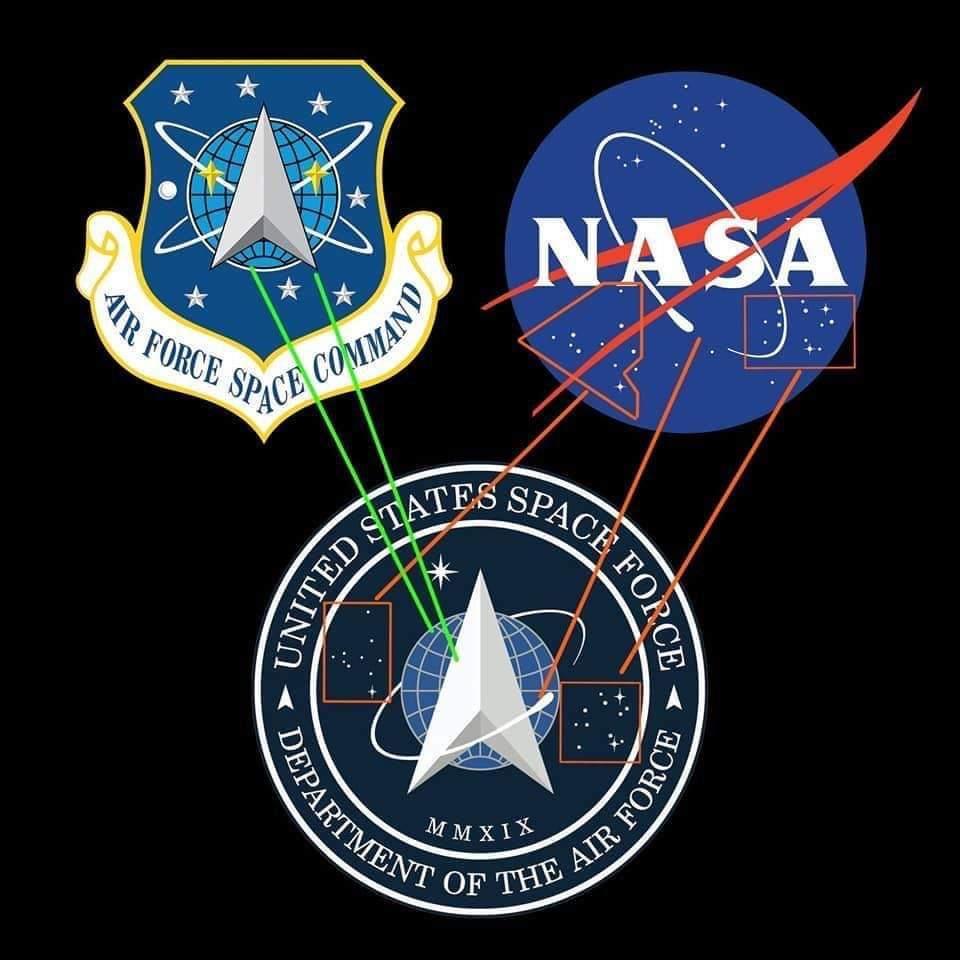 原来太空军是空军太空司令部和航空航天局的私生子
