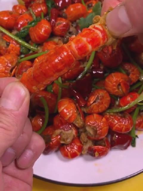 家庭版麻辣龙虾尾老五教做菜