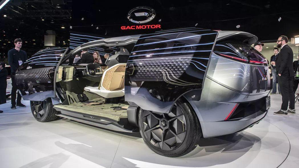 广汽传祺在美国发布了全新Entranze概念车