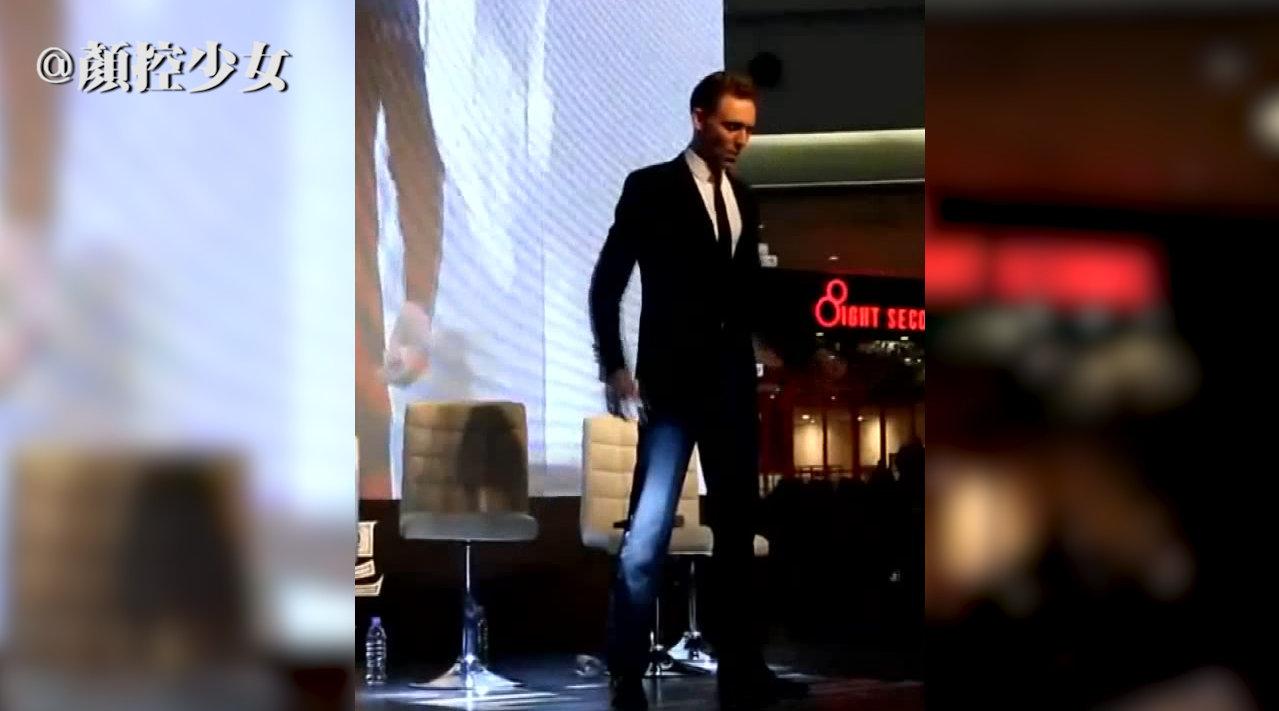 抖森Tom Hiddleston带来一支踩点满分的海草舞