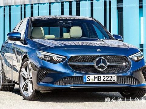 全新奔驰C级将亮相2020年巴黎车展,内饰全面升级+混动系统