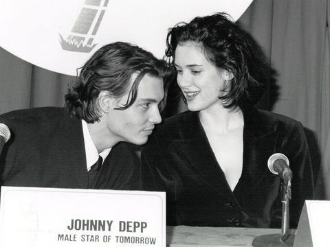 那时候的约翰尼·德普&薇诺娜·瑞德