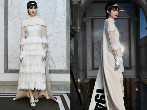 李宇春挑战公主造型,戴皇冠穿裙装踩恨天高,却美成了王子范