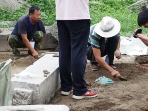 圆明园,考古发掘现场,出土5万多件文物,非常的壮观