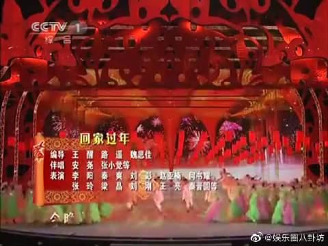 2011央视春晚,周冬雨、韩庚、董洁、窦骁、阎肃《回家过年》