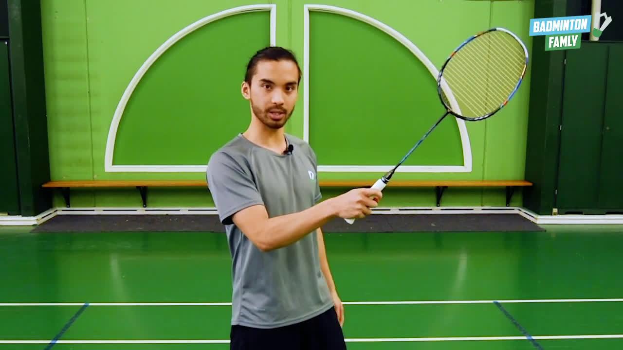 初学者的握拍 简单小tips Badminton Grip for beginner - Easy tips