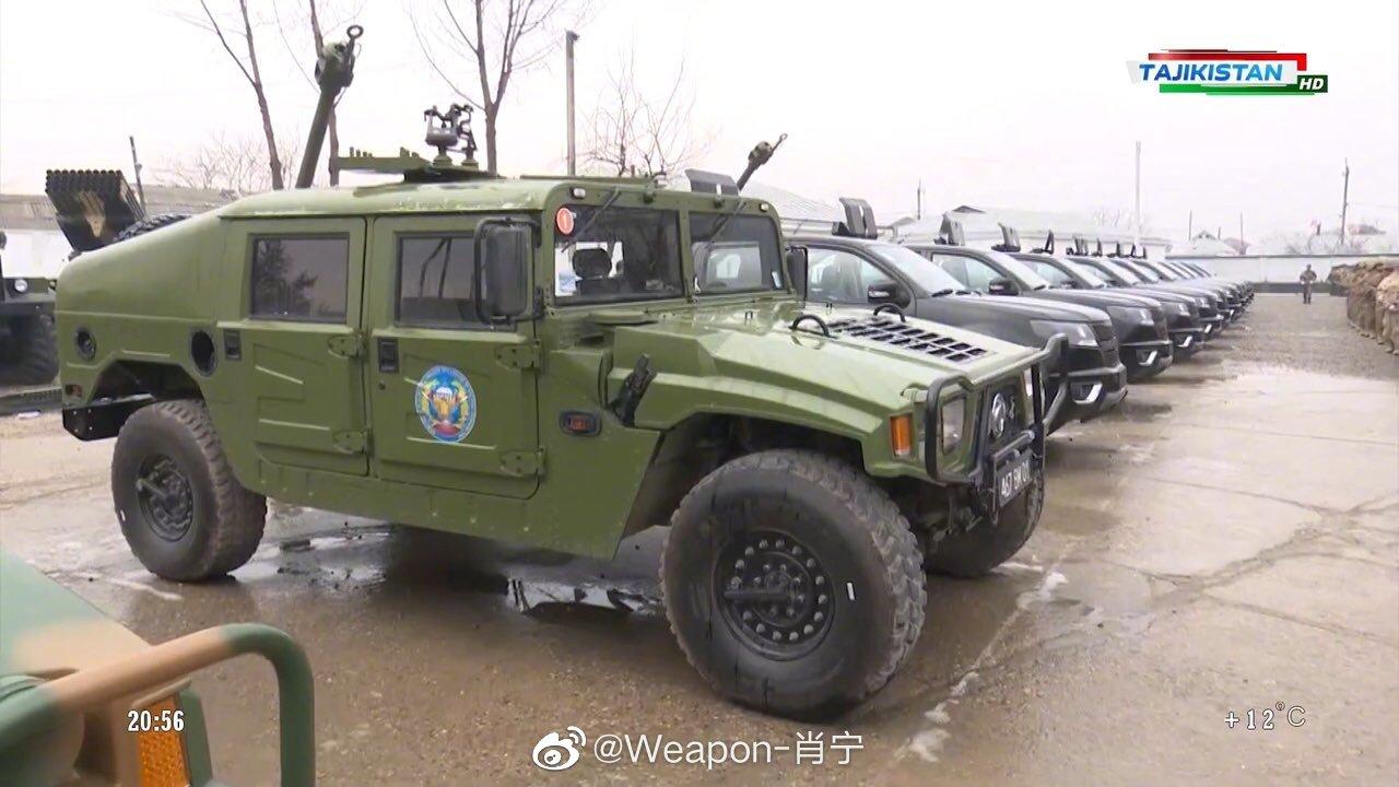 又一中国汽车品牌进入外国军用车辆装备序列——近日塔吉克斯坦纪念其