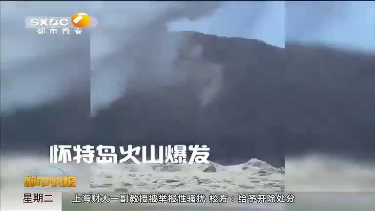 新西兰火山喷发  2名中国游客受伤失踪