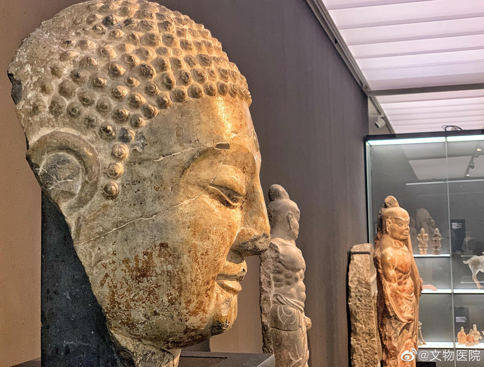 苏黎世里特贝格博物馆(Rietburg museum)收藏的部分中国南北朝 —