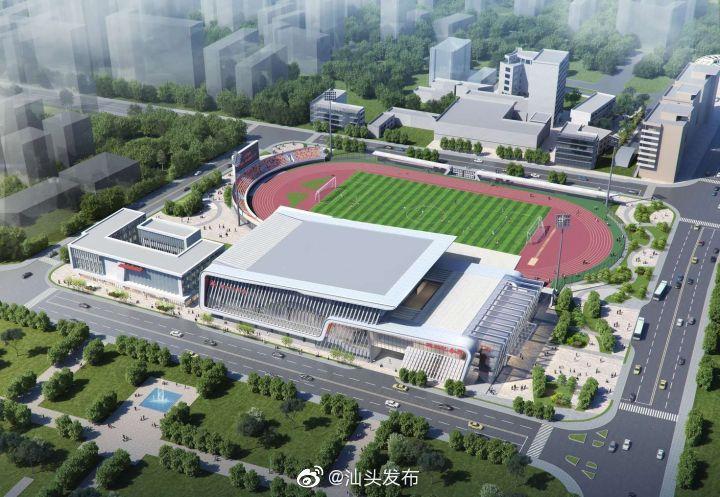 期待!市人民体育场升级改造迎亚青,田径场面向海湾风景无限