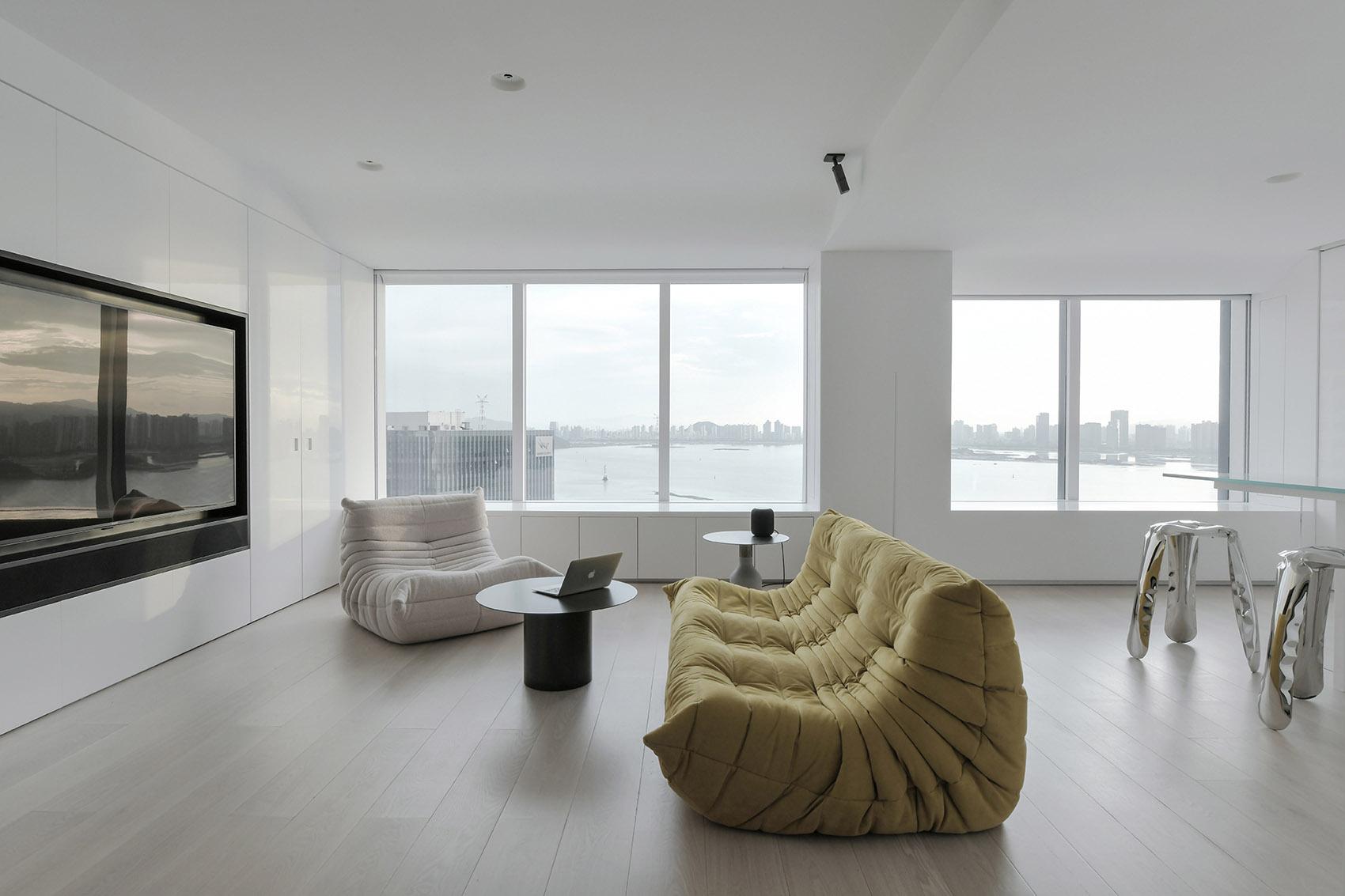 平滑的现代感,住宅设计 退化建筑/汕头室内设计/揭阳普宁室内设计