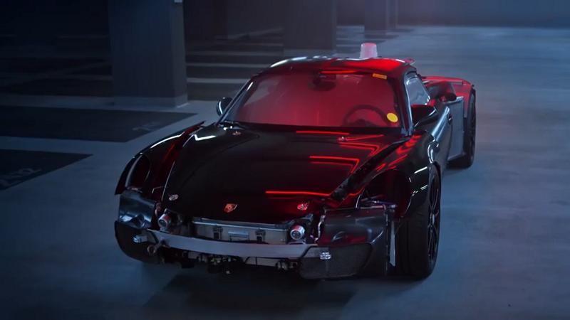 保时捷5台原型车曝光 其中一台造就了918 Spyder