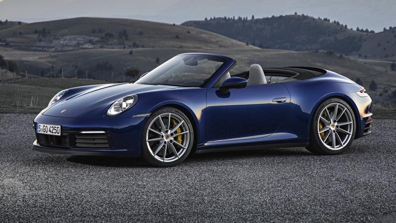 保时捷全新一代911 Cabriolet官图发布 2款车型 售价165.8万元起