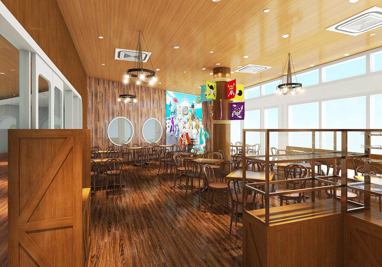 """《海贼王》20周年特别活动预告,开放新咖啡厅""""HOTARU Cafe"""""""