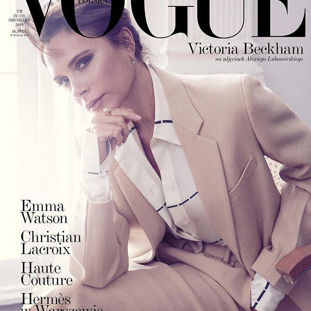 维多利亚贝克汉姆 登上波兰版Vogue十二月刊收官封面