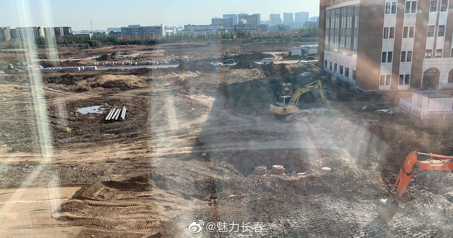 网友吐槽:长春工业大学北湖新校区很好看,绿化覆盖率很高