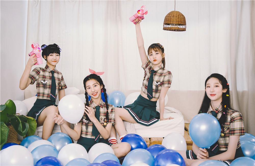 IS GIRL女团《星魔法学院》MV首发 青春少女团活力无限